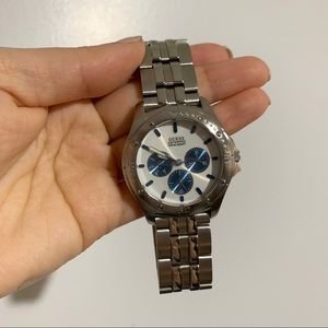 NEW WaterPro Guess Stainless Watch - White Face